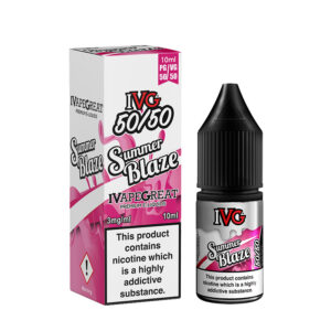 Ivg Summer Blaze 10ml 50 50 Eliquid flaske med kasse