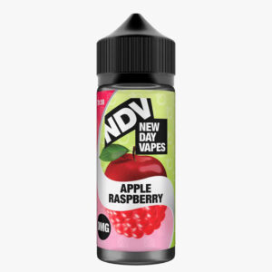 New Day Vapes Apple Raspberry 100ml Eliquid Shortfill Μπουκάλια