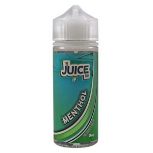 The Juice Lab Menthol 100ml Eliquid Shortfill Bottle