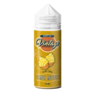 Muffin de Limón Vintage 100ml Eliquid Shortfill Botellas