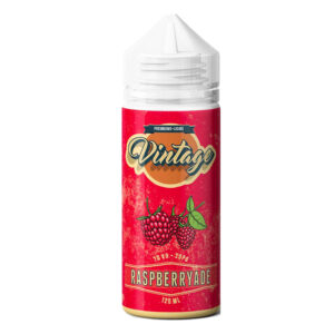 Eliquid Vintage Frambuesa 100ml Shortfill Botellas