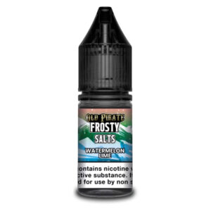 Watermelon Lime Nic Salt Eliquid 10ml Bottle By Old Pirate Frosty Salter