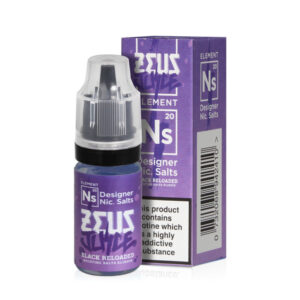 Zeus Juice Black Reloaded Nic Salt Eliquid 10ml Bottle With Box