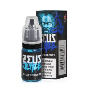 Zeus Juice Dimpleberry 5050 Eliquid Botella de 10 ml con estuche