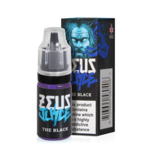 Zeus Juice Botella Eliquid Black 5050 de 10 ml con estuche