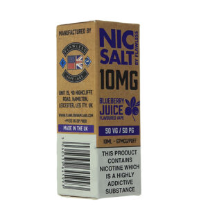 Impecável Nic Salt Blueberry Juice 10ml caixa eliquid