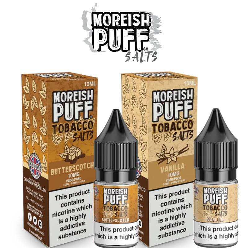 Moreish Tobaks Nic Salte