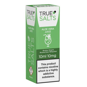 True Salts Aloe Vera Nic Salt 10ml Eliquid Box