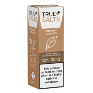 True Salts Straight Tobacco Nic Salt Caja de eliquid 10ml
