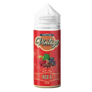 Vintage Red A 100ml Eliquid Shortfill Botellas