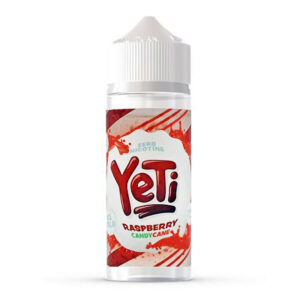 Yeti Hallon Candy Cane 100 ml Eliquid Shortfill Av Yeti Candy Cane