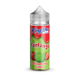Kingston Fantango Frutas Morango Limão 100ml Elíquido Shortfill Frasco
