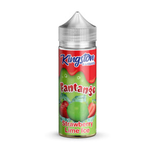 Kingston Fantango Morango Limão Gelo 100ml Elíquido Shortfill Frasco