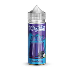 Kingston Blackcberry Jelly 100ml Eliquid Shortfill Flaske