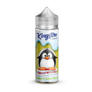 Kingston Chilly Willies Lemon Lime Slush 100ml Eliquid Shortfill Steklenica