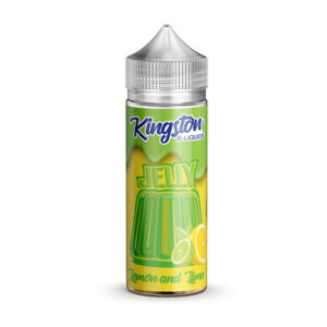 Kingston Lemon And Lime Jelly 100ml Eliquid Shortfill Flaska