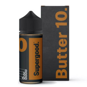 Manteiga 10 Supergood 100ml Eliquid Shortfill Frasco Com Caixa