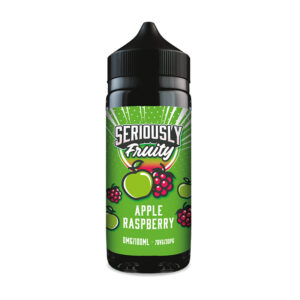 Doozy Seriously Fruity Apple Raspberry 100ml Eliquid Shortfill Flaske