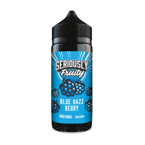 Doozy Seriamente Frutado Blue Razz Berry 100ml Eliquid Shortfill Frasco