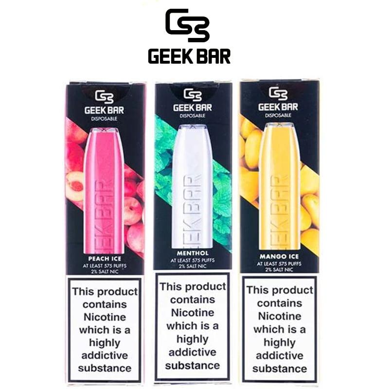 Stroki za enkratno uporabo Geek Bar