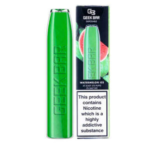 Geek Bar Watermelon Ice Disposable Eliquid Vape Pod