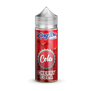 Kingston Cherry Cola 100ml Eliquid Shortfill Flaska