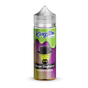 Kingston Grape Zingberry 100ml Eliquid Shortfill Flaska