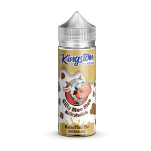 Kingston Silly Moo Banoffee Pie Milkshake 100ml Eliquid Shortfill Flaske