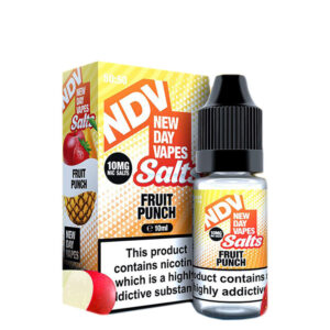 New Day Vapes Frasco de suco de frutas 10ml Nic Salt Eliquid com caixa