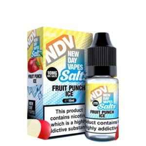New Day Vapes Fruit Punch Ice 10 ml steklenička s tekočino Nic Salt s škatlo