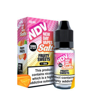 New Day Vapes Fruity Doces Frutados 10ml Nic Salt Eliquid Garrafa Com Caixa