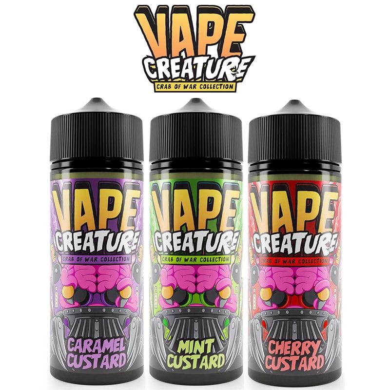 Vape Creature Vanill Shortfills