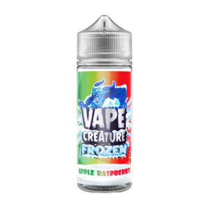Vape Creature Frozen Apple Raspberry 100ml Eliquid Shortfill Flaska