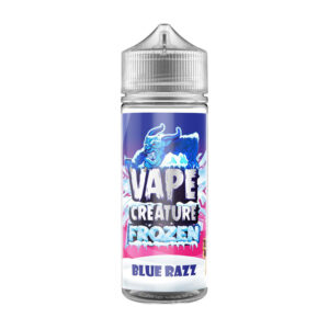 Vape Creature Frosinn Blue Razz 100ml Eliquid Shortfill Flaska