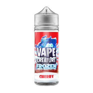 Vape Creature Frozen Cherry 100ml Eliquid Shortfill Bottle