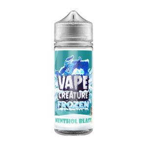 Vape Creature Frozen Menthol Blast 100ml Eliquid Shortfill Flaska