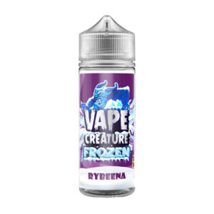 Vape Creature Fryst Rybeena 100ml Eliquid Shortfill Flaska