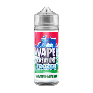 Vape Creature Frozen Watermelon 100ml Eliquid Shortfill Flaska