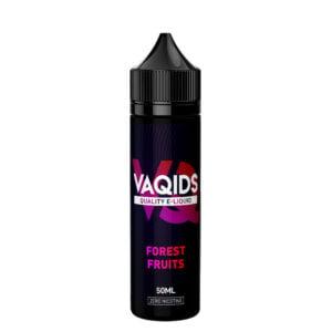 Vaqids Forest Fruits 50ml Eliquid Shortfill Frasco