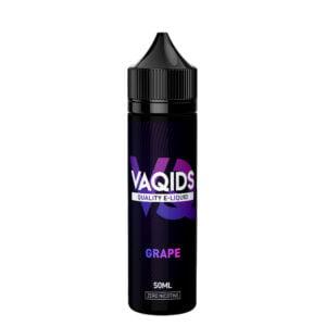 Vaqids Grape 50ml Eliquid Shortfill Frasco