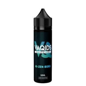 Vaqids Hi Zen Borg 50ml Eliquid Shortfill Bottle