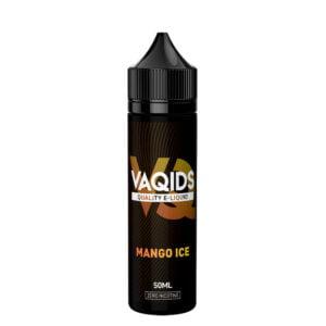 Vaqids Mango Ice 50ml Eliquid Shortfill Bottle