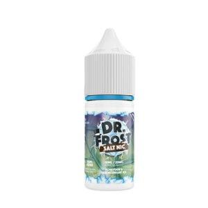 Dr Frost Steklenička tekočine medene rose in črnega ribeza Ice Nic Salt Eliquid