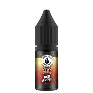 Juice N Power Saltrødt æble Nic Salt Eliquid 10 ml flaske