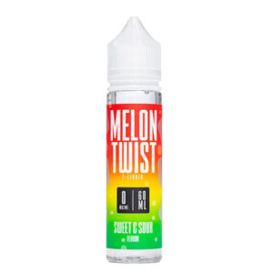 Melon Twist Sweet Svår 50 ml Eliquid Shortfill Flaska förbi Twist