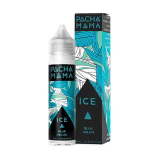 Pacha Mama Eliquid Blue Melon Ice 50ml Shortfill Botella con caja de Charlies Chalk Dust