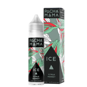 Pacha Mama Citrus Monkey Ice 50ml Eliquid Shortfill Bottle With Box By Charlies Chalk Dust