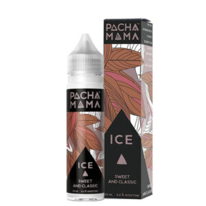 Pacha Mama Sweet And Classic Ice 50ml Eliquid Shortfill Flaske med æske af Charlies Chalk Dust
