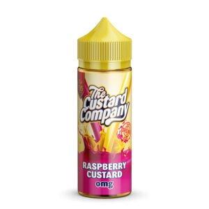 The Custard Company Raspberry Custard 100ml Eliquid Shortfill Flaska