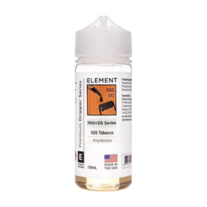 Element Gotero 555 Tabaco 100ml Eliquid Shortfill Botella